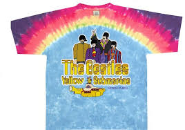 beatles yellow submarine t shirt