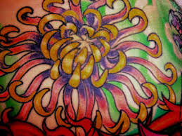 chrysanthemum art