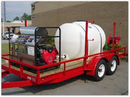 pressure washers trailers