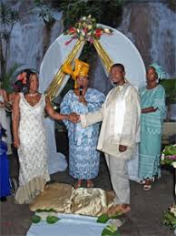 african wedding ceremony