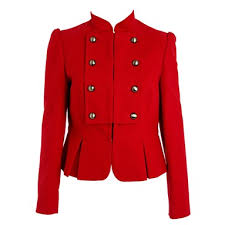 military red jacket