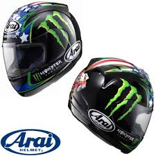 arai monster helmet