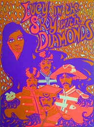 lucy in the sky with diamonds poster