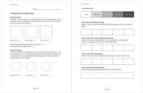 art worksheet