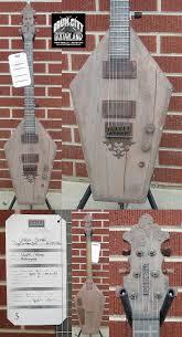 coffin guitar