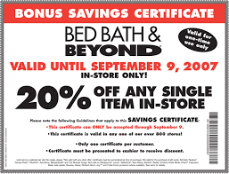 bath bath and beyond coupon