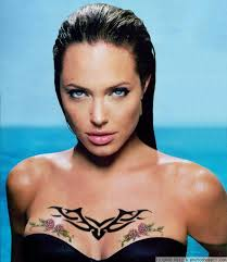 angelina jolie tattoo picture