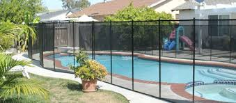 inground pool fences