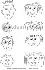 cartoon pictures of a family
