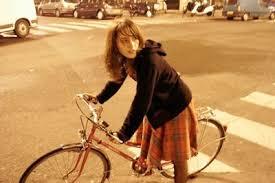 girls ride bikes