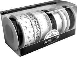 black white paper