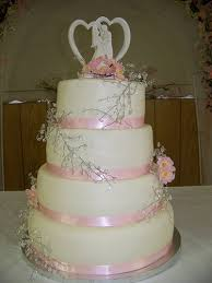 fondant wedding cake pictures