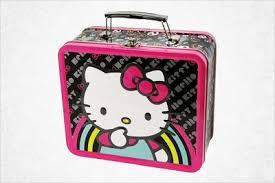 hello kitty metal lunch box