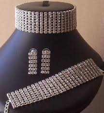 diamante chokers