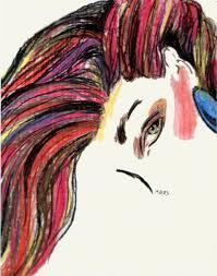 paintings of hair