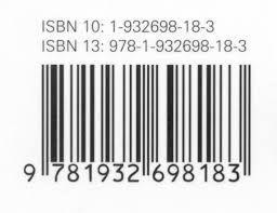 isbn bar codes