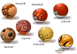 all the pokeballs