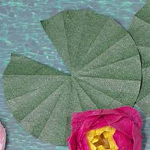 origami lily pad