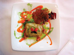 menu de banquetes