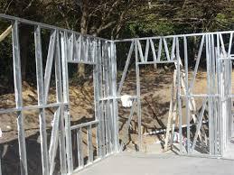steel frame walls