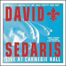 david sedaris live at carnegie hall