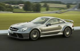 mercedes sl65 amg black