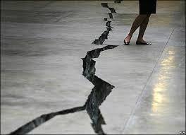 crack in the floor