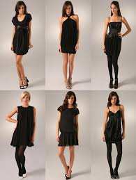 pictures of black dresses