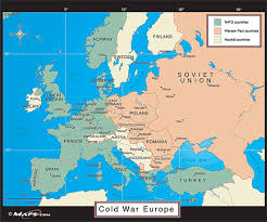 map of europe 1946
