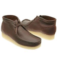 brown wallabees