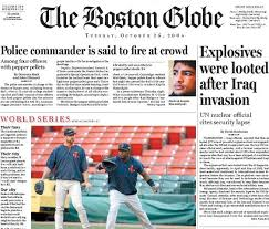 Boston Globe Releasing Pay