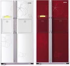 designer refrigerator
