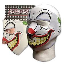 clown face masks