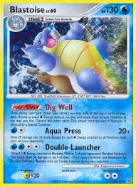 blastoise pokemon cards