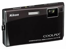 nikon coolpix touch screen
