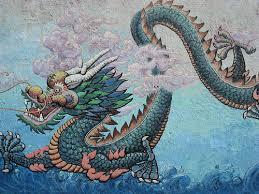 dragon murals