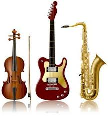 all the musical instruments
