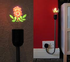 flower light bulb