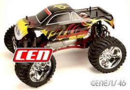 gas powered monster trucks