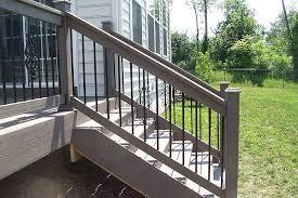 deck step railing