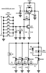 combination lock circuit