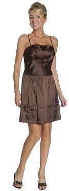 short brown dress