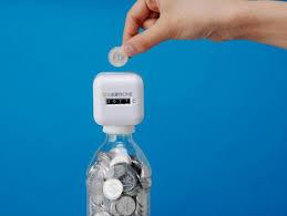 coin bottles
