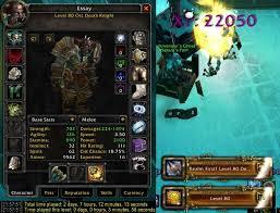 lvl 80 death knight