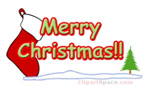 animated clipart christmas