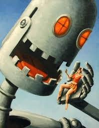 paintings of robots