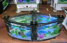 furniture fish tank