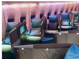 cathay pacific new first class