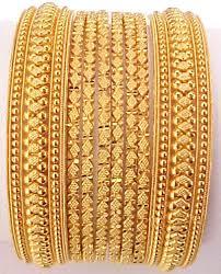 gold indian bangle
