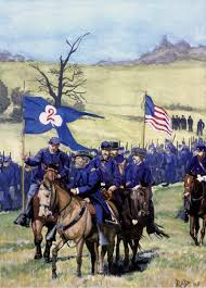 american civil war painting